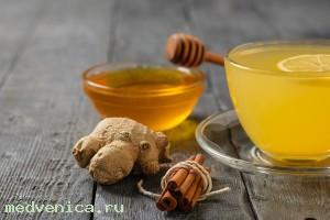 Медово-имбирные напитки
