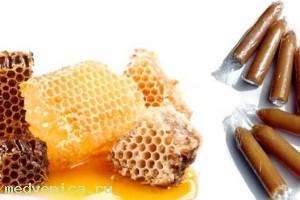 Лечение геморроя медом