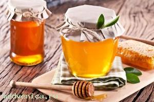 Лечение печени при помощи меда