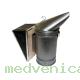 Дымарь пасечный (стальной) съемный кожаный мех