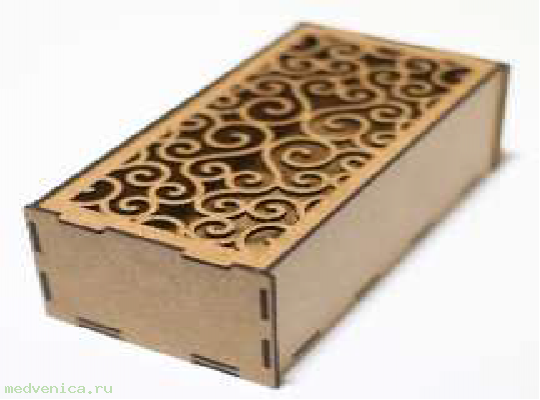 Короб подарочный Ц03 крафт