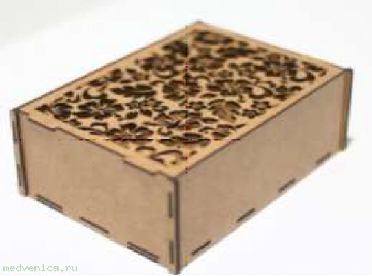 Короб подарочный Ц04 крафт