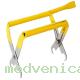 Захват для рамок с функцией стамески (желтая, нержавейка)