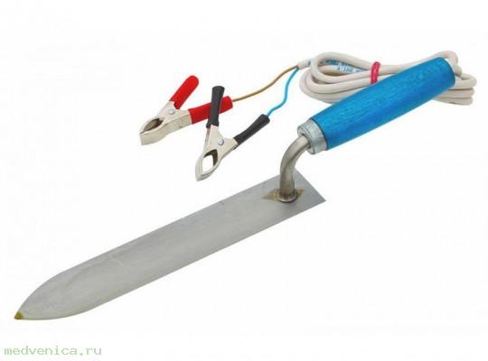 Нож пасечный электрический 12V 40Вт (зажим