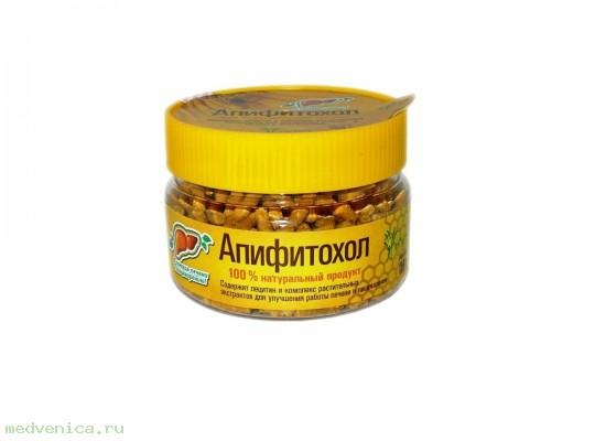 Драже с пыльцой Апифитохол (БАД для печени)
