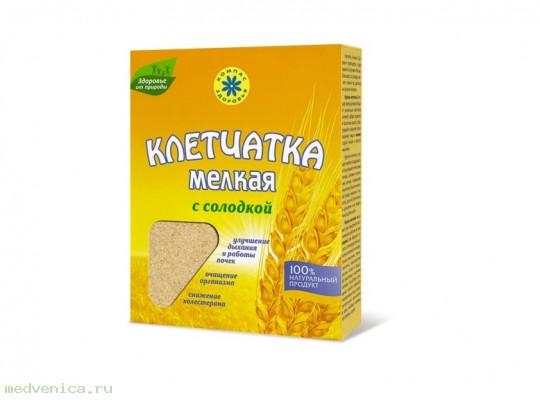 Клетчатка пшеничная с солодкой