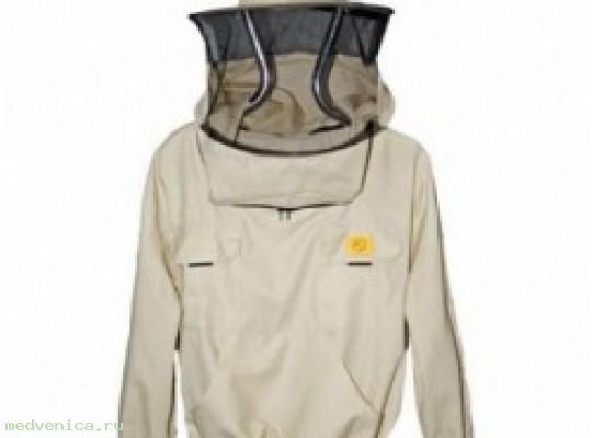 Куртка пчеловода с лицевой сеткой (Польша)
