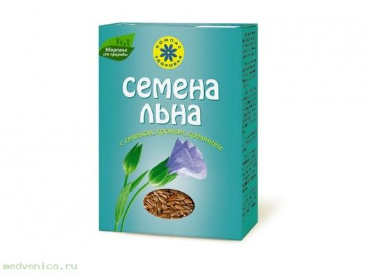 Семена льна с селеном и хромом,