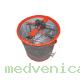 Медогонка 3 рамочная; необоротная; алюмоцинковая; редуктор червячный (Ростов)