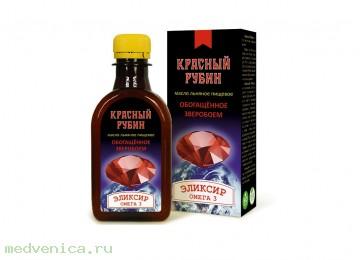 Масло льняное Красный рубин