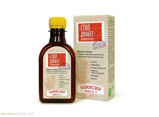 Масло льняное Стоп Диабет