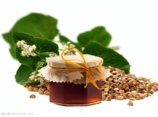 Мёд гречишный (Алтай)