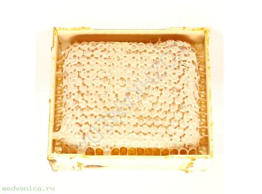 Мёд сотовый в рамке