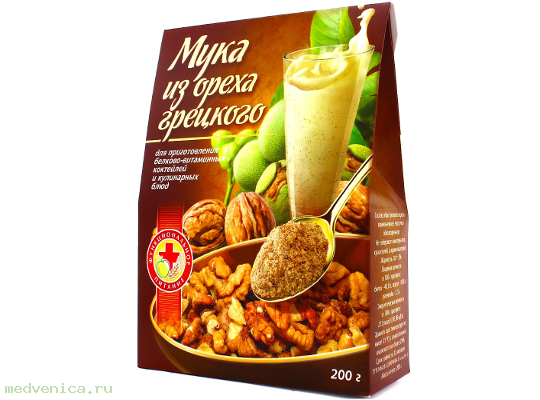 Мука грецкого ореха