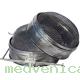 Фильтр (2 части) D200, оцинковка, вогнутая сетка