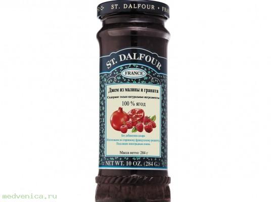 Джем из малины и граната, ST. DALFOUR. 284 г.