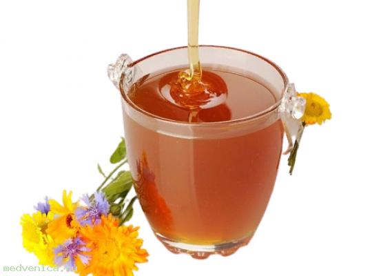 Мёд разнотравье таёжное (Алтайский край), кг.