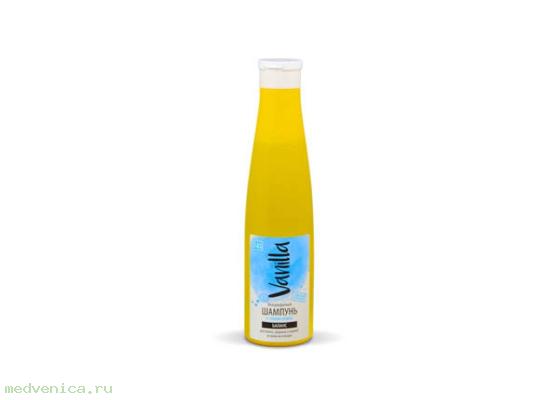 Шампунь VANILLA для волос, жирных у корней и сухих на кончиках с соком агавы, 350 г.
