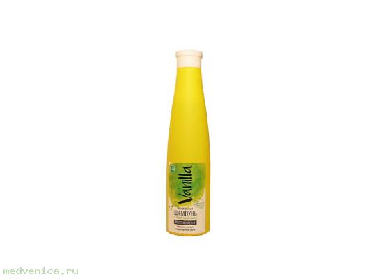 Шампунь VANILLA для сухих, ломких и поврежденных волос с огуречным соком, 350 г.