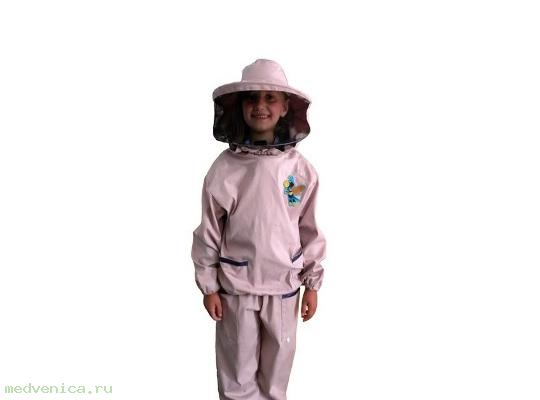 Костюм пчеловода детский с лицевой сеткой (бязь)
