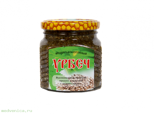 Урбеч медово- конопляный